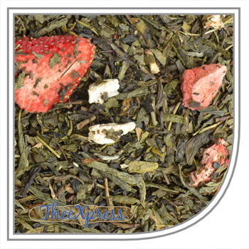 Green tea blends