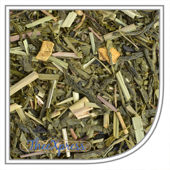 Green Lemon Sencha tea of Tea-express-tea.com