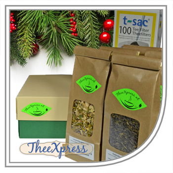 Tea Christmas gift box of Tea-express-tea.com