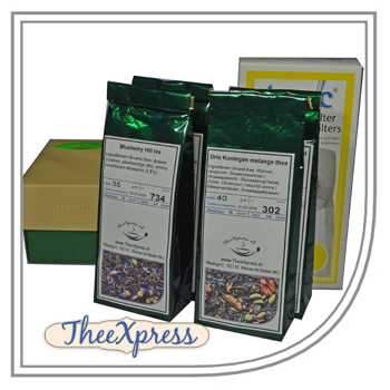 Christmas gift set Green teas of Tea-express-tea.com