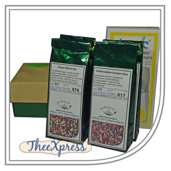 Christmas gift set Herbal teas